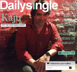 Kaju on cover of the Daily Single
